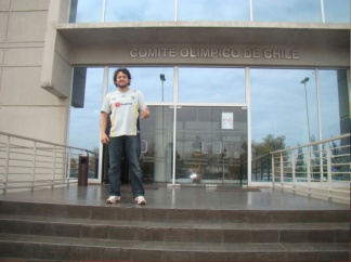 Visita ao Centro de Treinamento Olímpico do Chile