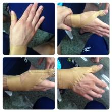 Bandagem de dedo